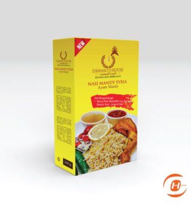 Print Kotak Pek Nasi Arab | One Heart Print