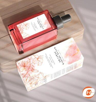 Print Kotak Perfume Murah | One Heart Print
