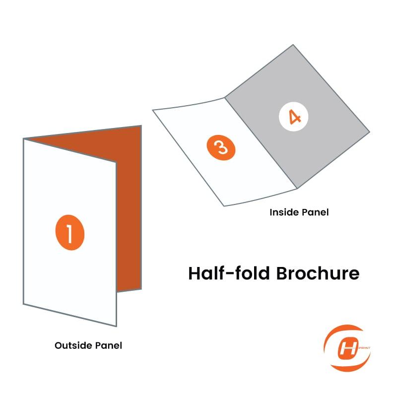Print Half Fold Brochure | One Heart Print